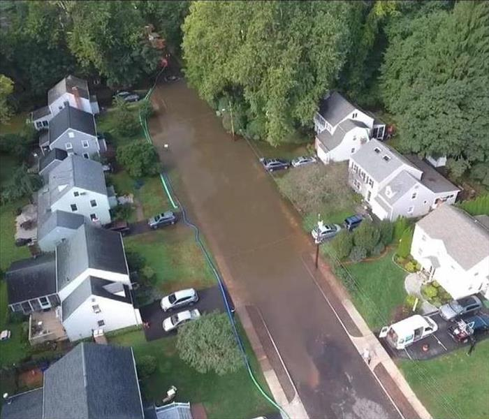 Sewage backup floods neighborhood in West Hartford CT
