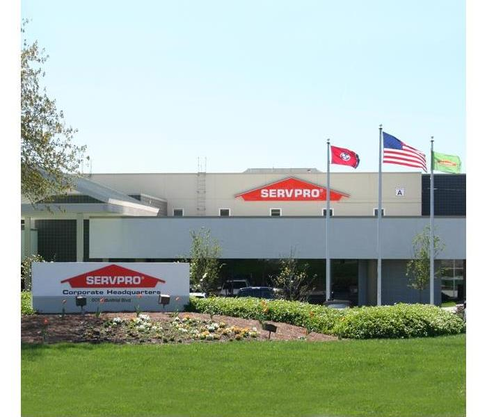Exterior of SERVPRO office building